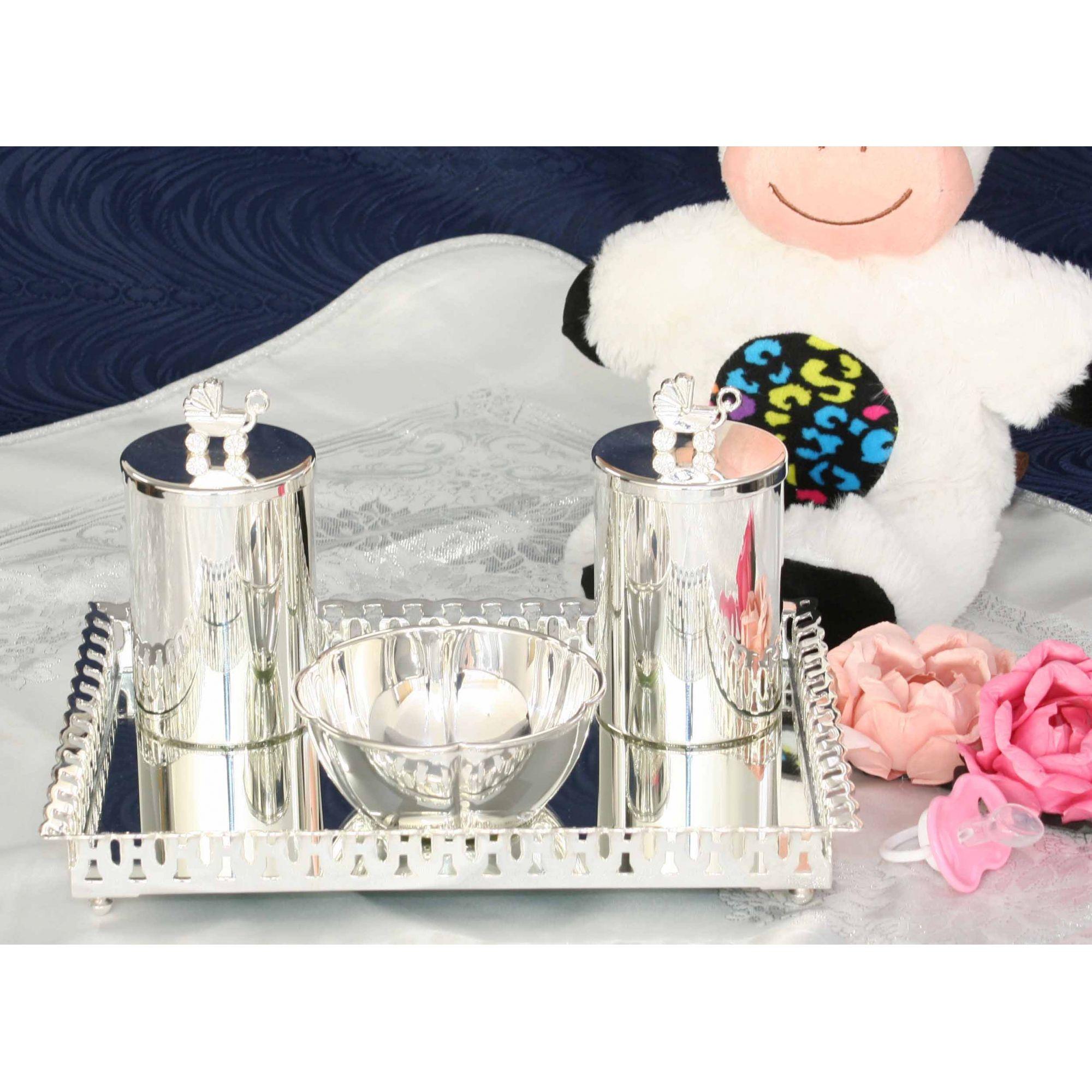 Kit decorativo carrinho de bebê