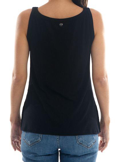 Camisa Regata Básica feminina BAY Sydney - Preta