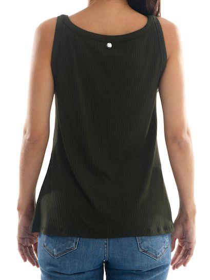 Camisa Regata Básica Feminina BAY Sydney - Verde