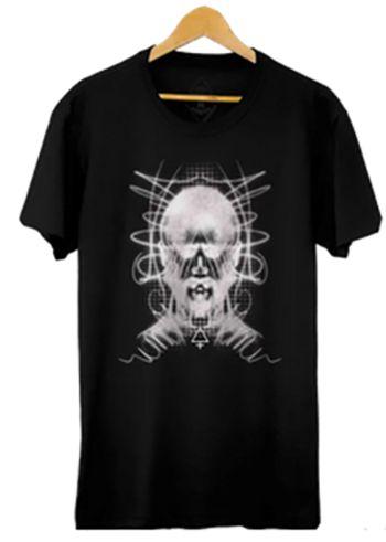 Camiseta Masculina Maumas Epa (alma) 100% algodão - preta