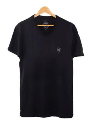 Camiseta Masculina Maumas Orquijazz - Preta