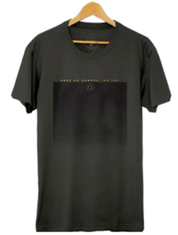 Camiseta Masculina Maumas Sombra Algodão Estonado - Grafite