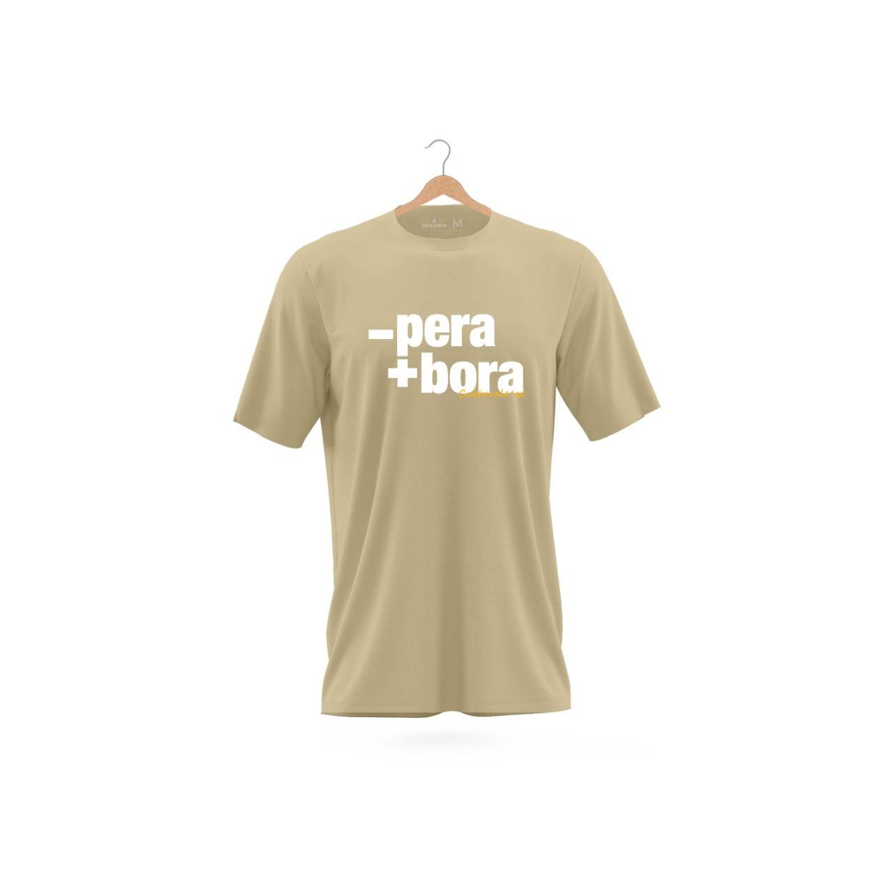 CAMISETA T-SHIRT STONED - PERA + BORA - AREIA