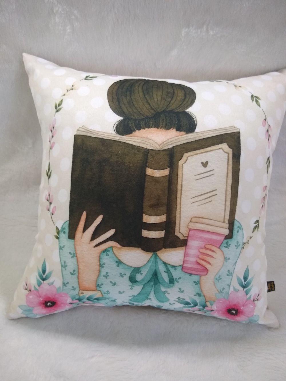 Capa de Almofada Coleção Literatura - Morena
