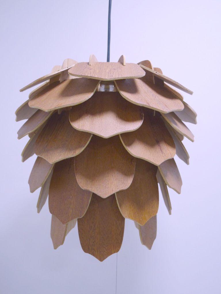 Luminária em Madeira Espina - Soletue Design