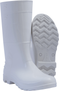 Bota Pvc Cano Medio Branca - Kadesh - Ca 42149