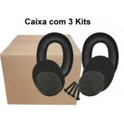 Caixa com 3 Kits Reposição Abafador Muffler Kit 0977 - 3M
