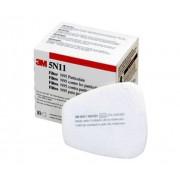 Caixa De 10 Un Filtro 5N11 P2 Para Respirador Semifacial Linha 6000/7000-3M