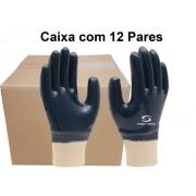 12 Pares de Luva Malha Nitrílico Ss1002 -Super Safety - Ca 32033