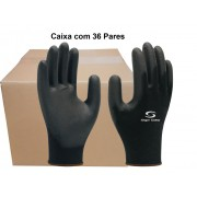 36 Pares de Luvas PU Multitato SS1003 - Super Safety