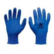 Luva Malha Latex Corrugado Blue Flex - Kalipso - Ca 39668
