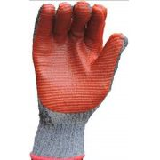 Luva Malha Vulc Rubber Red -Super Safety- Ca 34370