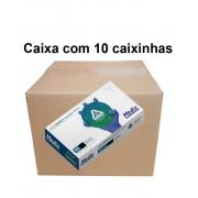 Luva Nitrilica Descartável Sem Pó - Medix - CA 39947  kit com 10 caixinhas