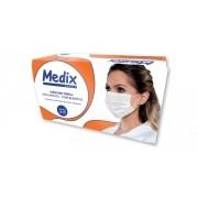 Mascara Tripla C/Elastico Caixa com 50 Un - Medix