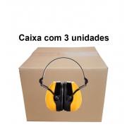 Protetor Auditivo Tipo Concha C-200 23DB - Camper - CA 43878 Caixa com 3 un