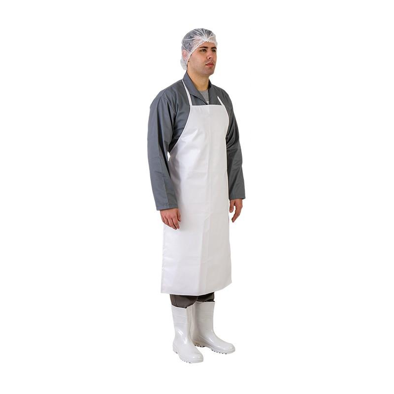 Avental Napa Emborrachada Branco - Prevemax CA 40610