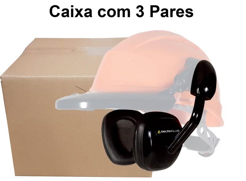 Caixa com 3 Pares Abafador Concha Para Capacete Suzuka2-Deltaplus-15 Db Ca 35004
