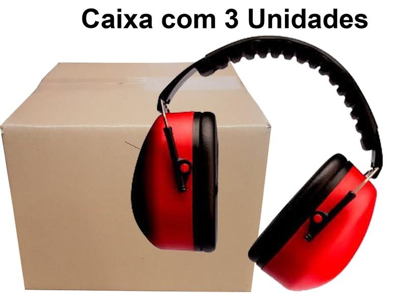 Caixa com 3 Un  Protetor Auditivo Tipo Concha Muffler - 3M - Ca. 14235