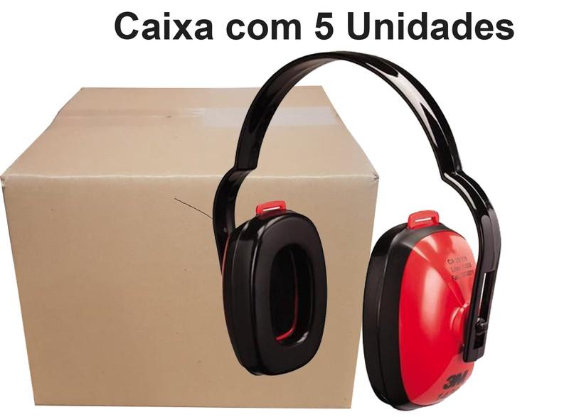 Caixa com 5 Protetor Auditivo Tipo Concha 1426 - 3M -19 DB Ca. 29176