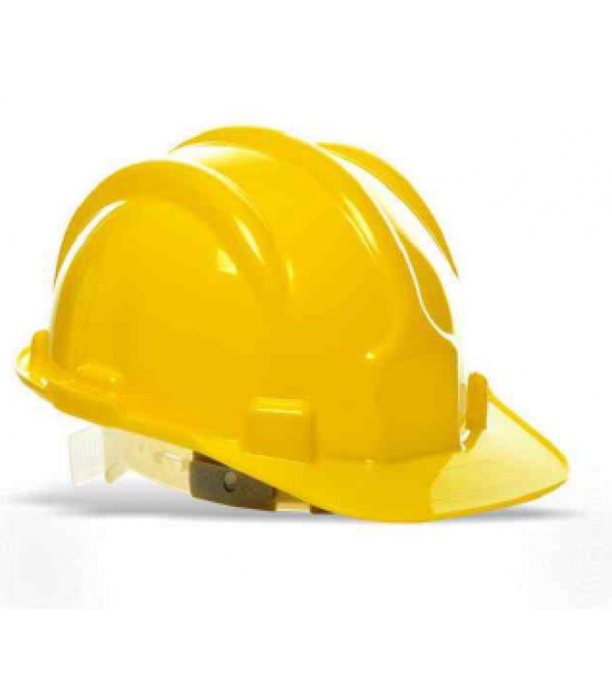 Capacete Abf Aba Frontal Amarelo - Plastcor - Ca 25882
