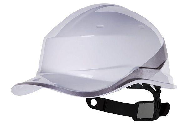 Capacete Baseball Diamond V - Deltaplus - Branco Ca 39041