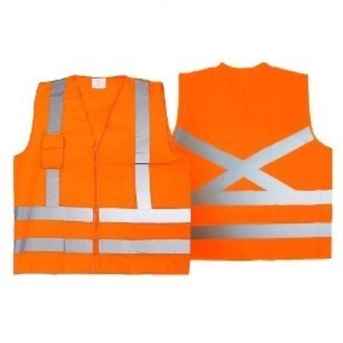Colete Refletivo Hi-Vis Laranja - Super Safety