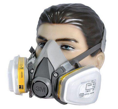 Kit Completo Respirador Semifacial 3M Modelo 6200 Tam. M