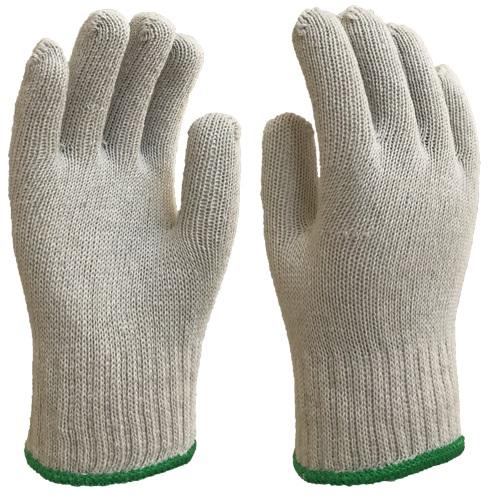 Luva Algodão Tricotada 3 fios Branca - Ldi Safety - Ca 42425