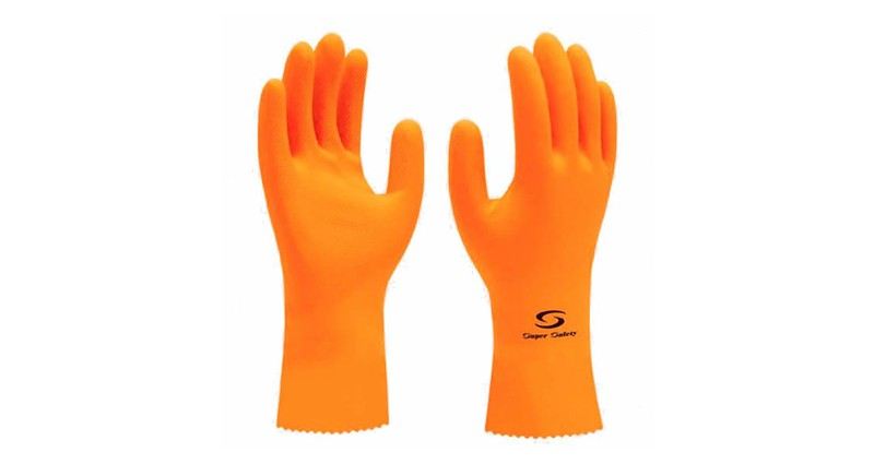 Luva De Látex Super Orange - Super Safety - Ca 33778