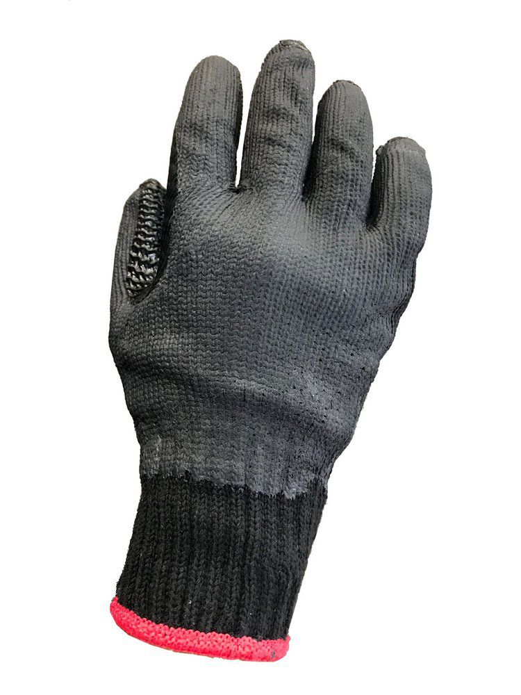 Luva Malha Vulc Rubber Black-Super Safety- Ca 34370