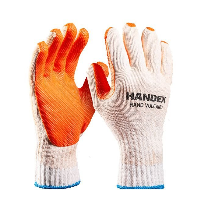 Luva Malha Vulcanizado Hand -Handex - Ca 41666 Tamanho: 10(GG)