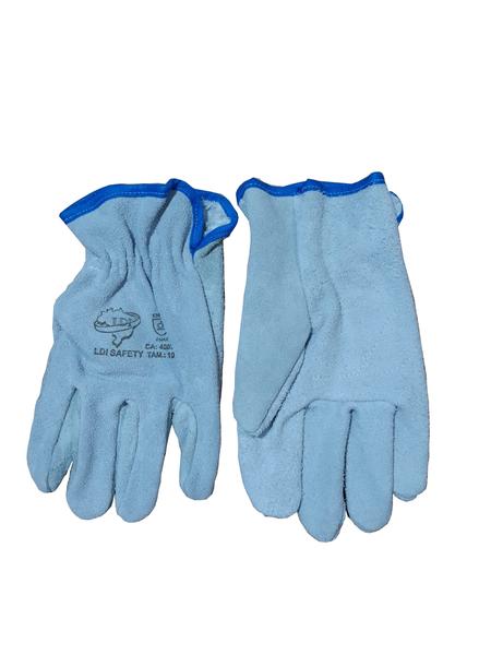 Luva Raspa P/Elastico - Ldi Safety - Ca 45032