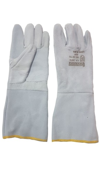 Luva Raspa Reforçada Montador Costura Fio Kevlar P.15 - Marasca - Ca 28910