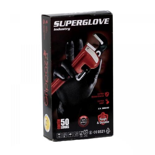 Luva Super Glove Preta - Super Safety - Ca 38645