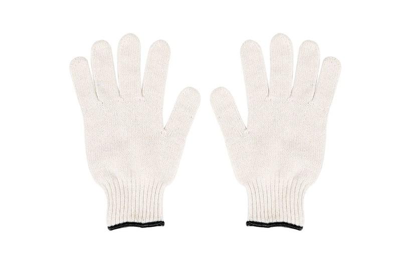 Luva Tricotada Algodao 4 Fios Branca - Super Safety - Tam. Unico - Ca 32825
