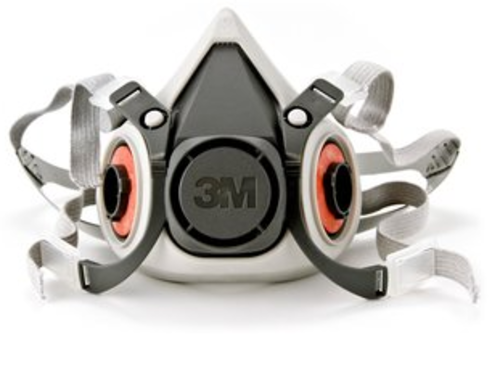 Mascara Respirador Semifacial 6300 - 3M - Tam. G Série 6200 - Ca 4115