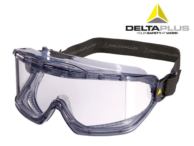 Óculos Panorâmico Ampla Visão Galeras Incolor - Deltaplus- Ca- 35268