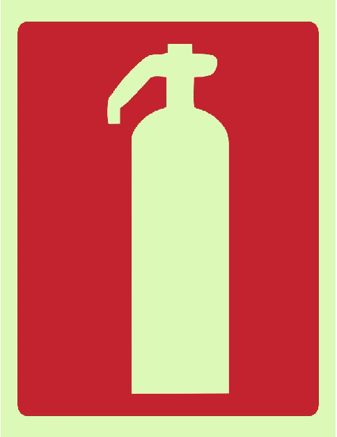 Placa Indicativa De Extintor 20X20 Pvc Mocelin