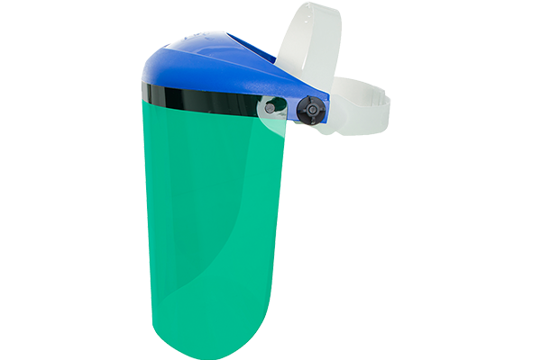 "Protetor Facial Pro Vision Verde- Deltaplus - 10"" Ca 14197"