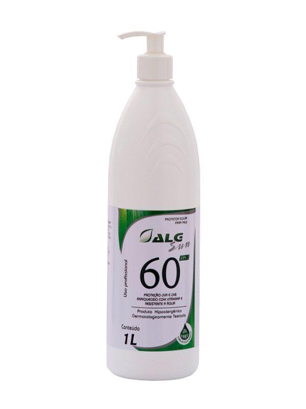 Protetor Solar Alg Sun  - Alg - Fps 60 1 Lt