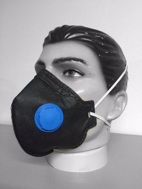 Respirador Pff2 Carvao Com Valvula - Grazia - Ca 39055
