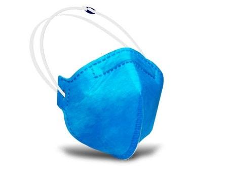 Respirador PFF2 Sem Válvula Rhino Azul - CA 34129