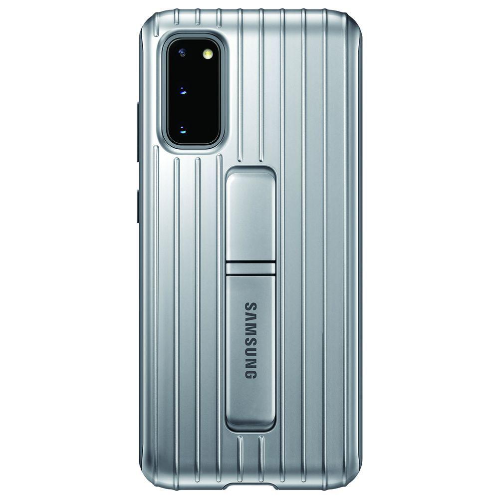 Capa Samsung Galaxy S20+ Protective Standing Prata