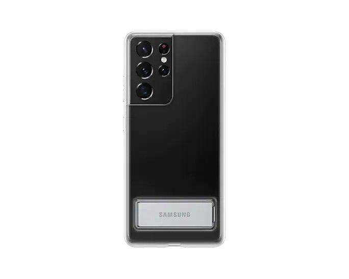 Capa Samsung Galaxy S21 Ultra Clear Standing - Transparente