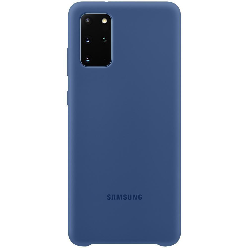 Capa Protetora Silicone Azul Marítimo- Galaxy S20