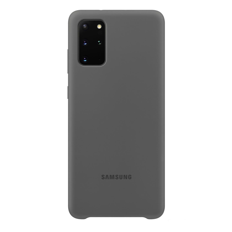 Capa Protetora Silicone Cinza - Galaxy S20