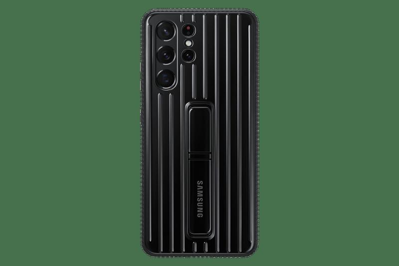 Capa Samsung Galaxy S21 Ultra Protective Standing Preta