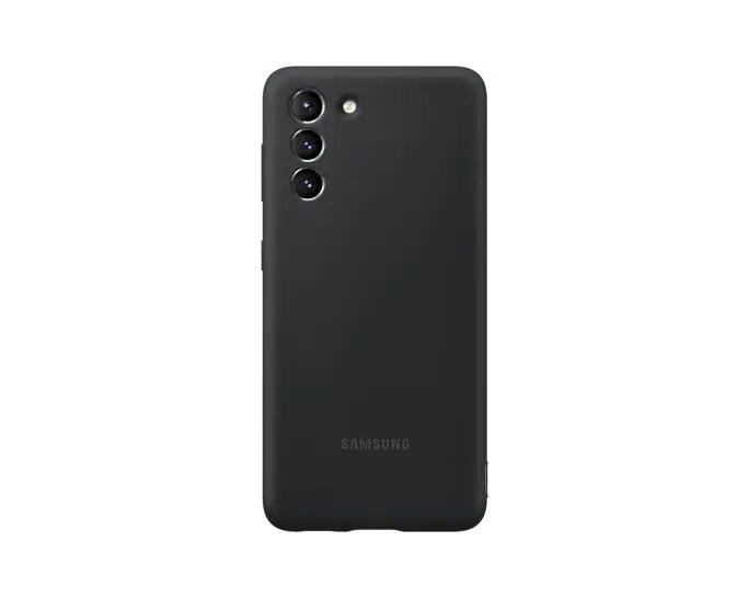 Capa Samsung Galaxy S21 Silicone Preta