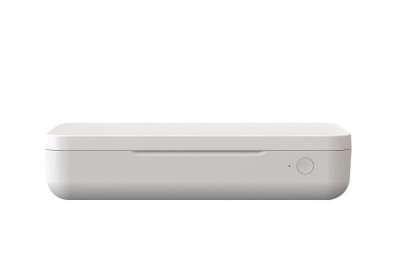Esterilizador UV e Carregador Sem Fio Qi Samsung - Branco