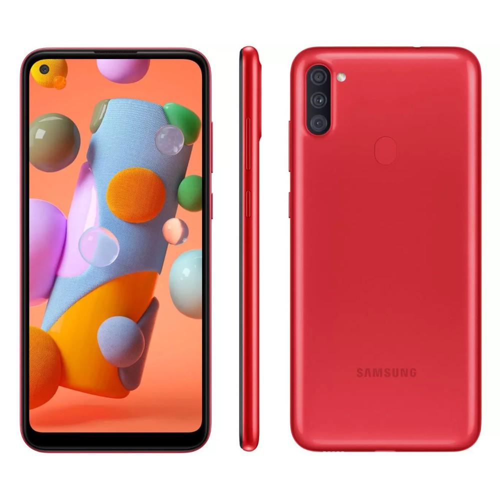 Galaxy A11 64 GB - Vermelho